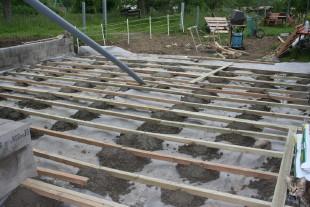 La terrasse r novation - Structure de terrasse en bois ...
