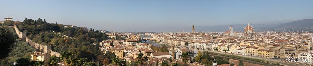Florence - Vue sur la ville
