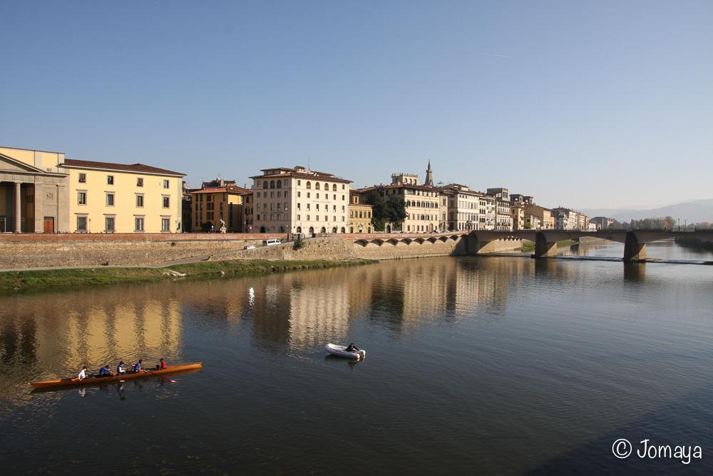 Florence - Sur les rives de l'Arno