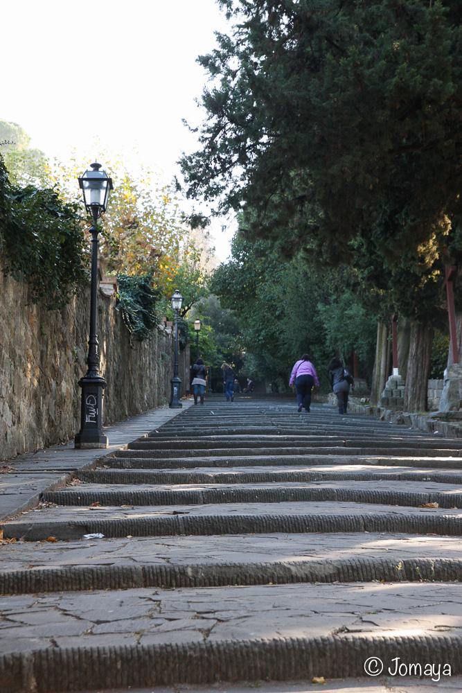 Florence - Vers San Salvatore al Monte
