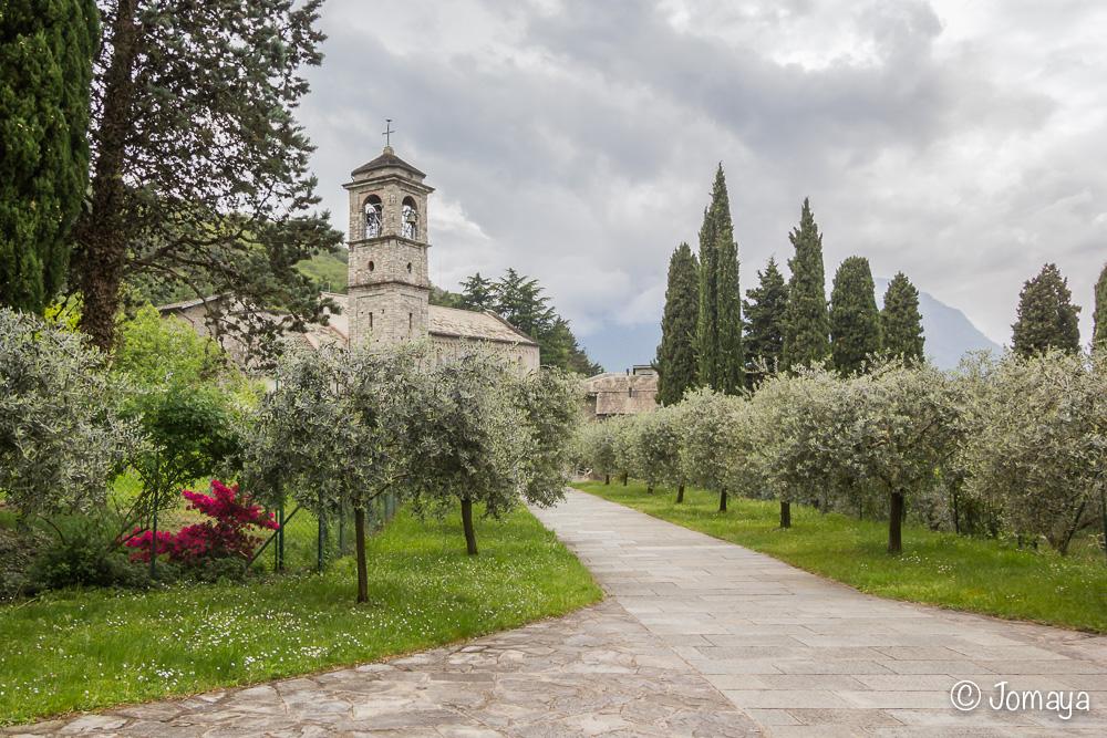 Abbazia di Piona - Lac de Côme - Italia