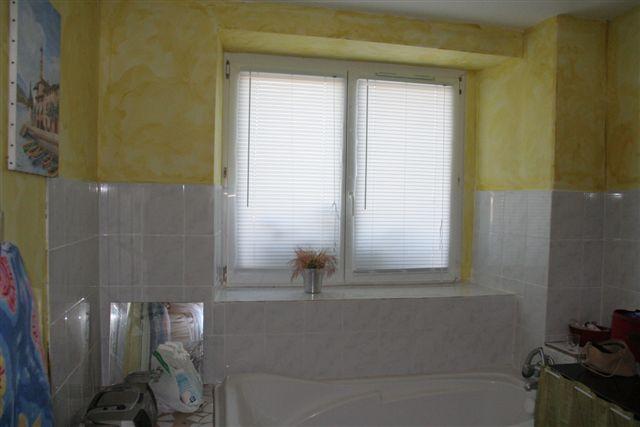 La salle de bains r novation - Fenetre de salle de bain ...