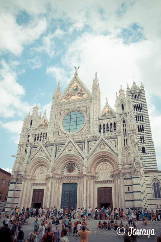 Sienne - Piazza del Duomo