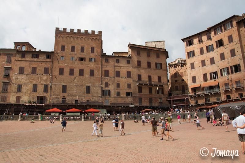 Sienne - Piazza del Campo