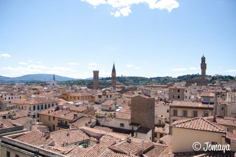 Florence - vue sur la ville depuis le Campanile