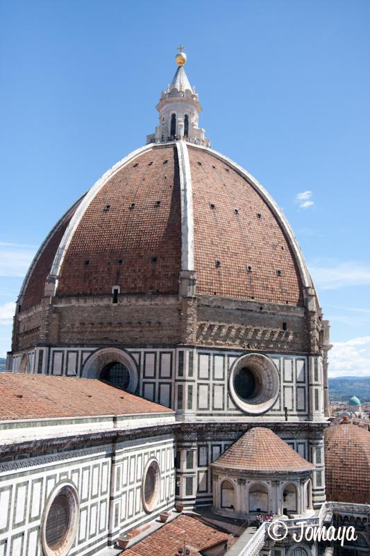 Florence - vue sur la coupole depuis le Campanile
