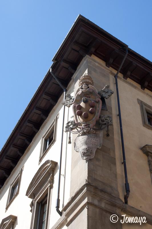 Florence - Le blason des Médicis