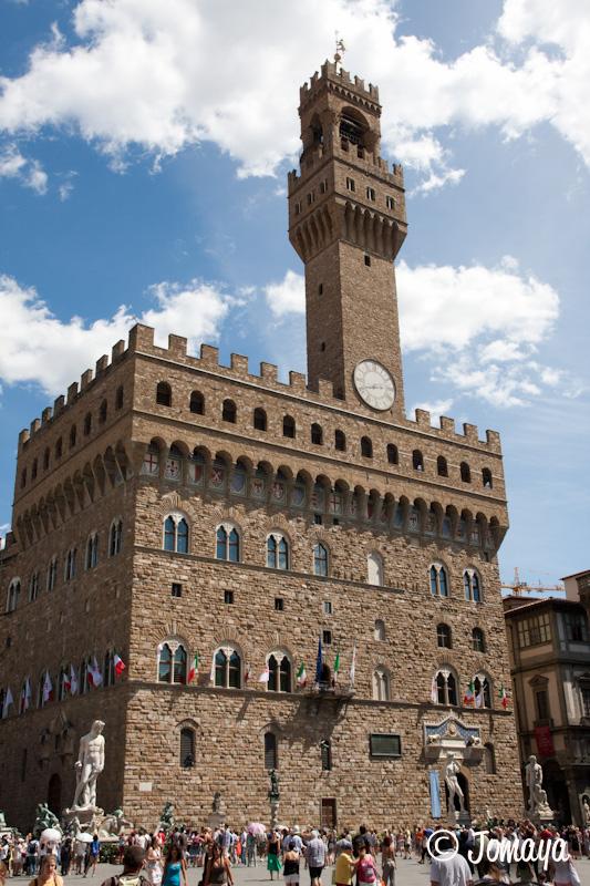 Florence - Devant le Palazzo vecchio