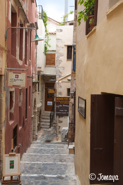 Dans les ruelles de La Canée (Hania)