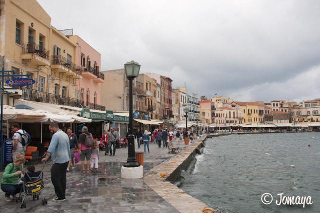 La Canée - sur le port vénitien