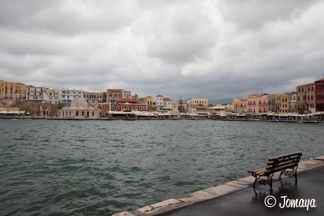 La Canée - le port vénitien