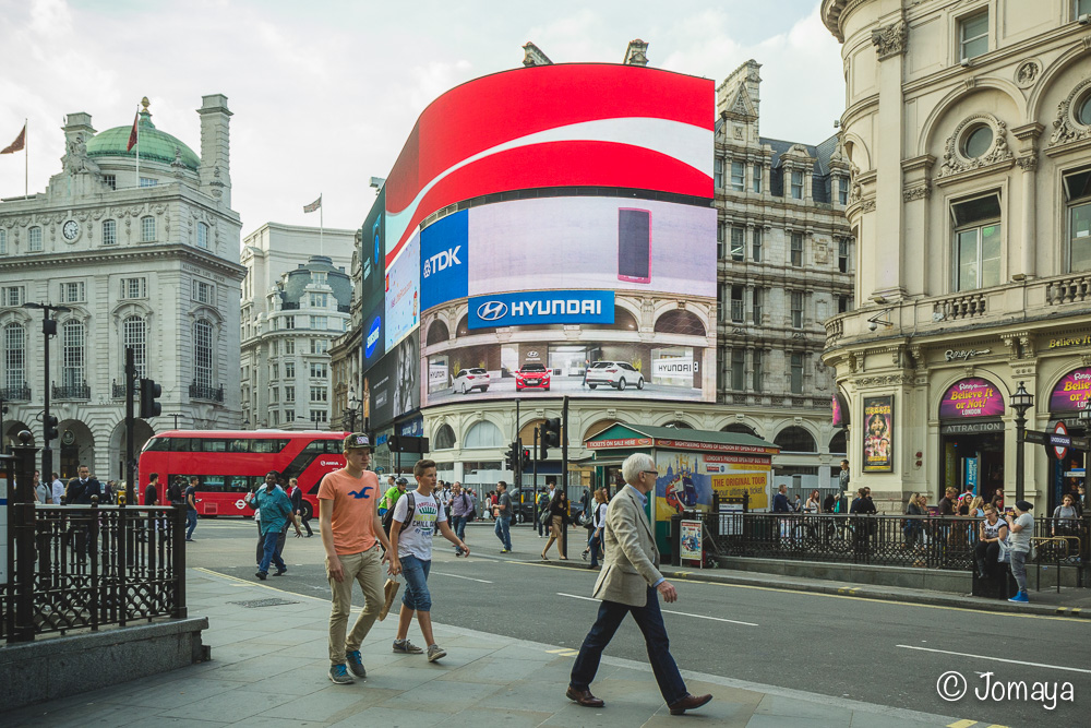 Picadilly Circus - Londres