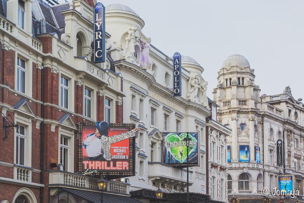 Théâtres - Londres