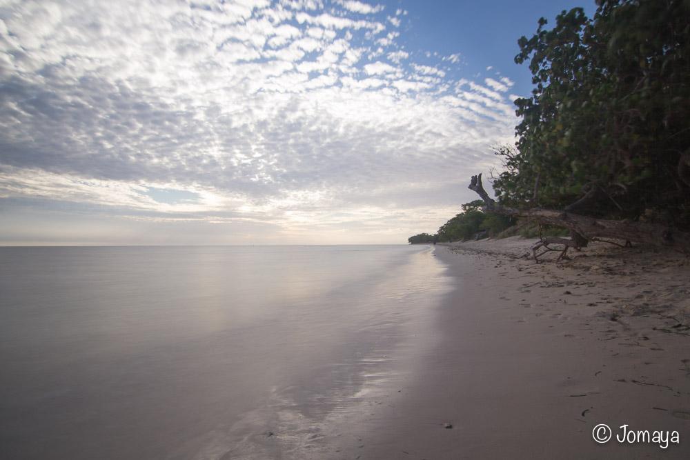 Coucher de soleil sur Poe - Bourail - Nouvelle Calédonie