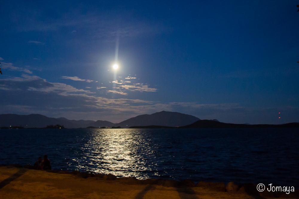 Lever de lune- Nouméa - Nouvelle Calédonie