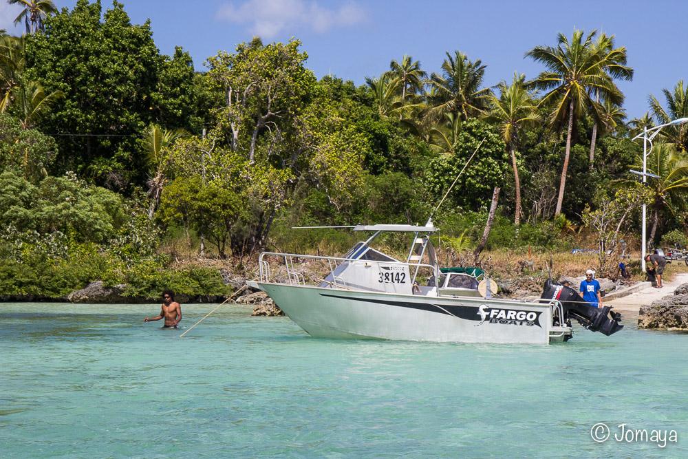 Mise à l'eau des bateaux - Roh - Maré