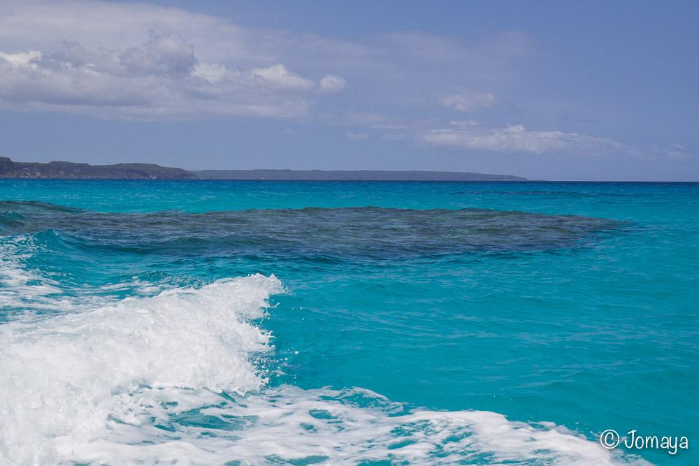 En bateau - Côte Nord - Maré