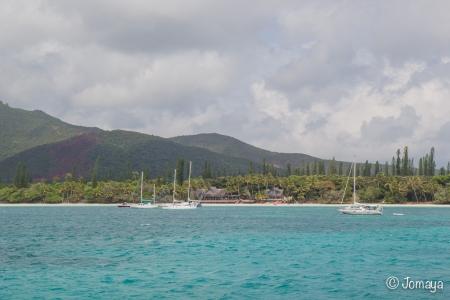 Débarcadère de Kuto - Ile des Pins - Nouvelle Calédonie