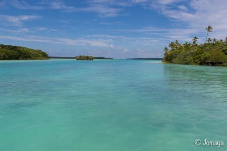 balade en pirogue - Baie d'Upi - Ile des Pins - Nouvelle Calédonie