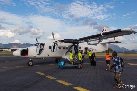 Le coucou du retour de l'Ile des Pins vers Nouméa - Nouvelle Calédonie