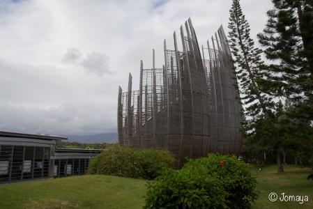Centre Culturel Tjibaou - Nouméa - Nouvelle Calédonie