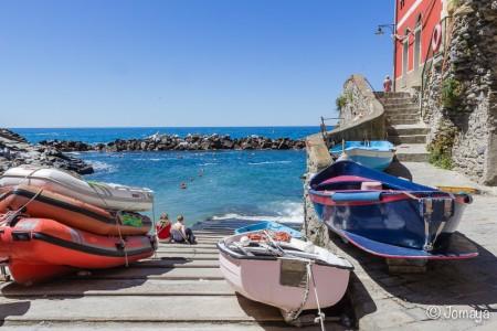 Riomaggiore-Cinque-Terre-Ligurie-Italia